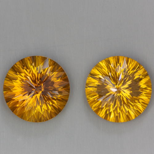 20.76ct Citrine Pair