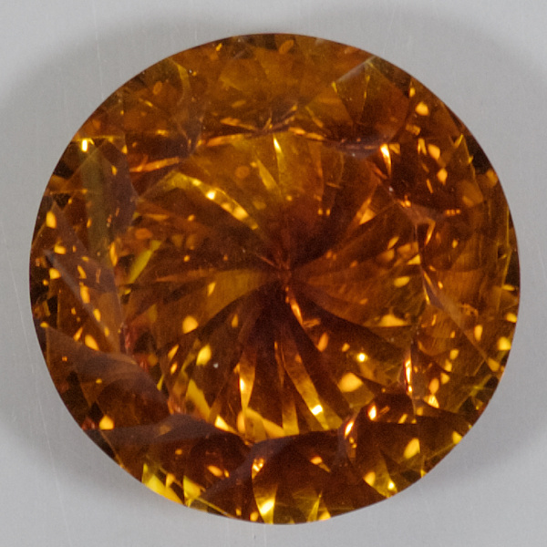 5.7ct Concave Citrine